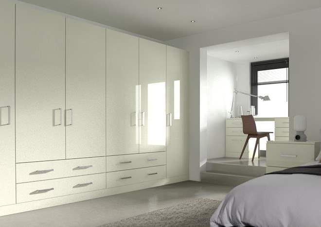 Ultragloss Ivory Bedroom Doors
