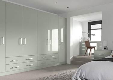 Ultragloss Mussel Bedroom Doors
