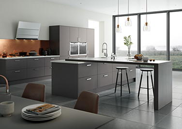 Matt Anthracite Kitchen Doors