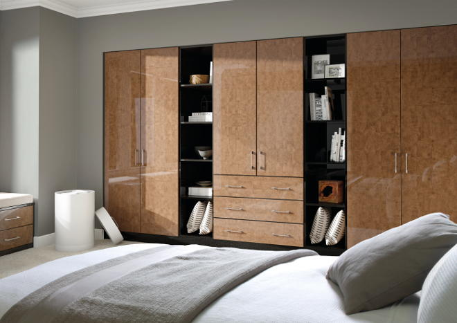 Ultragloss Copperleaf Bedroom Doors
