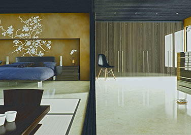 Ultragloss Japanese Pear Bedroom Doors
