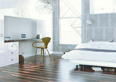 Ultragloss White Bedroom Doors