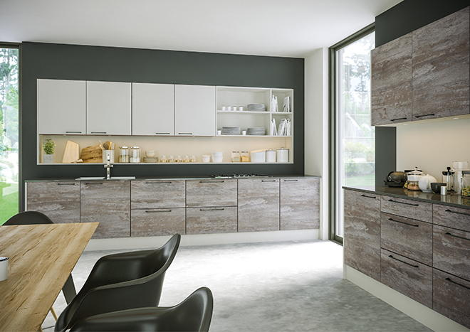 Driftwood Light Grey Kitchen Doors From 580 Made to Measure