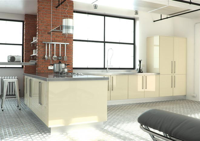 Ultragloss Cream Kitchen Doors