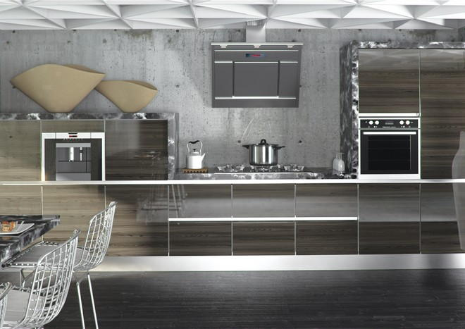Ultragloss Japanese Pear Kitchen Doors