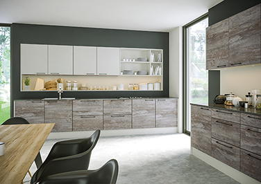 Driftwood Light Grey Kitchen Doors