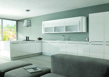 Mirror Effect Kitchen Doors
