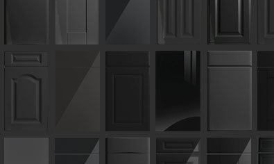 Black Kitchen Doors