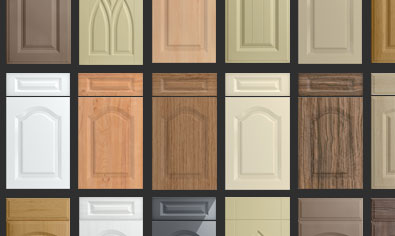 Cathedral Kitchen Doors