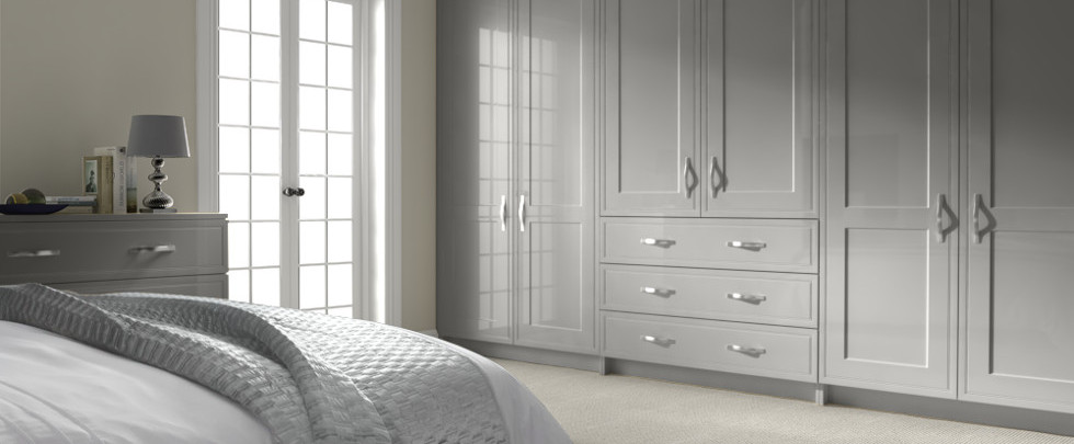 Bedroom Doors Light Grey
