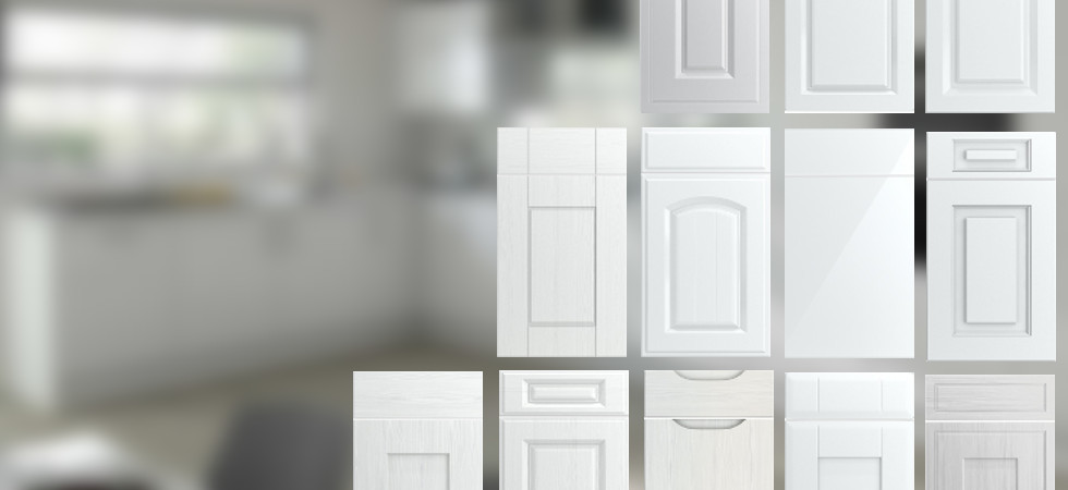 Kitchen Cabinet Doors White Gloss | Winda 7 Furniture
