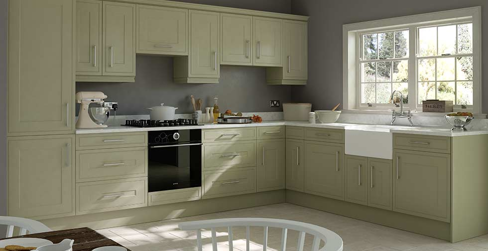 Shaker Style Kitchen Doors Replacement Inspiration