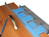 Handle Hole Drilling Jig