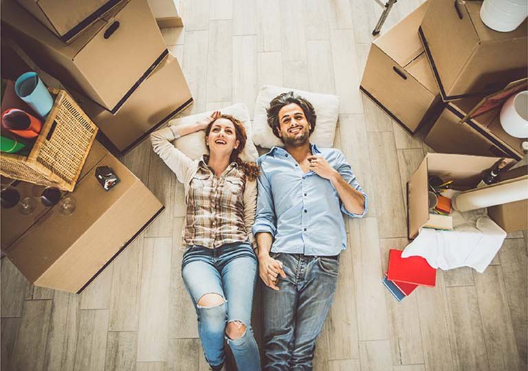 The new home-owners