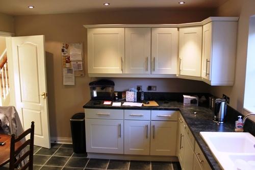 Kitchen Doors, Shaker Ivory 1