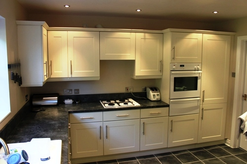 Replacement kitchen doors - Shaker Ivory 3