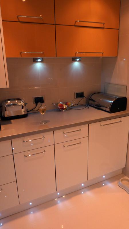 Zurfiz Ultragloss Saffron Kitchen Doors
