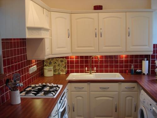 Westbury Vanilla Kitchen Doors