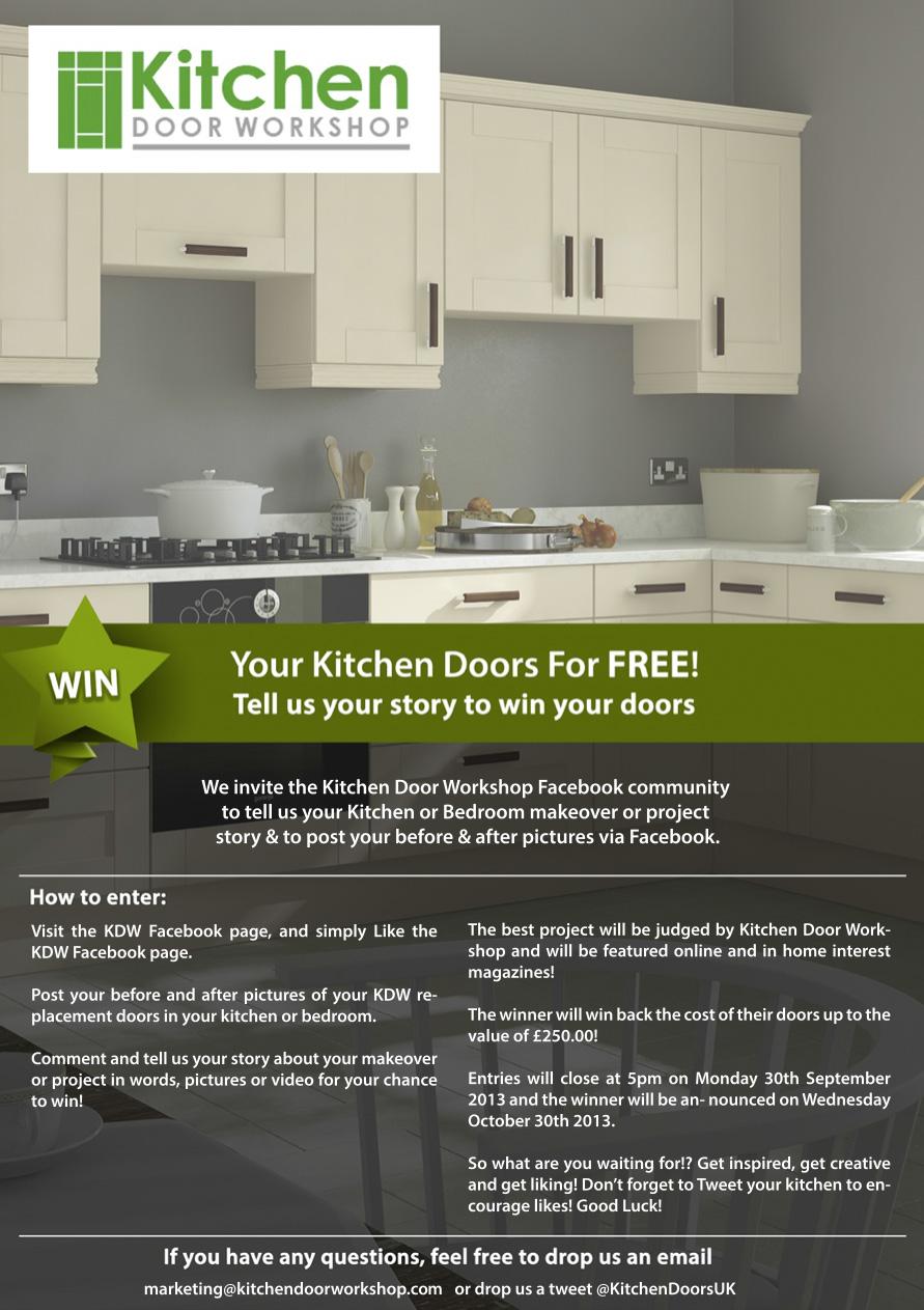 your kitchen door for free