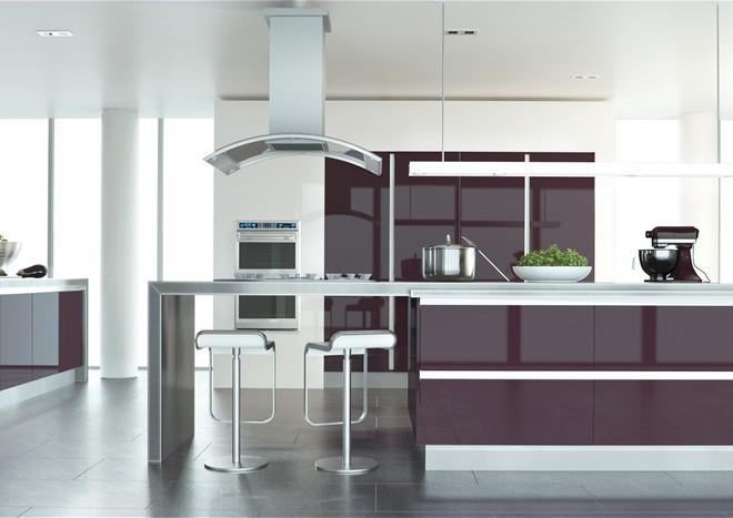 kitchen door plum