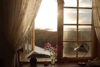 An open window lets so much light and fresh air onto your home.