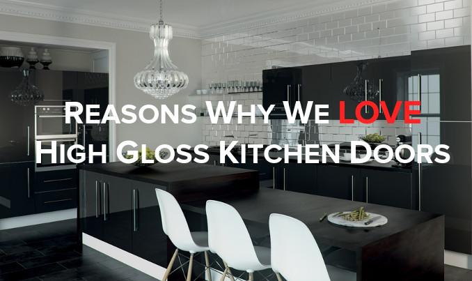 love high gloss kitchen doors