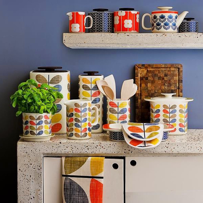 Nice ... Citydogcountrydoghome Orla Kiely In My City Kitchen Kitchen D 233 Cor  Tips From Angie Of Lemons Kitchen ...