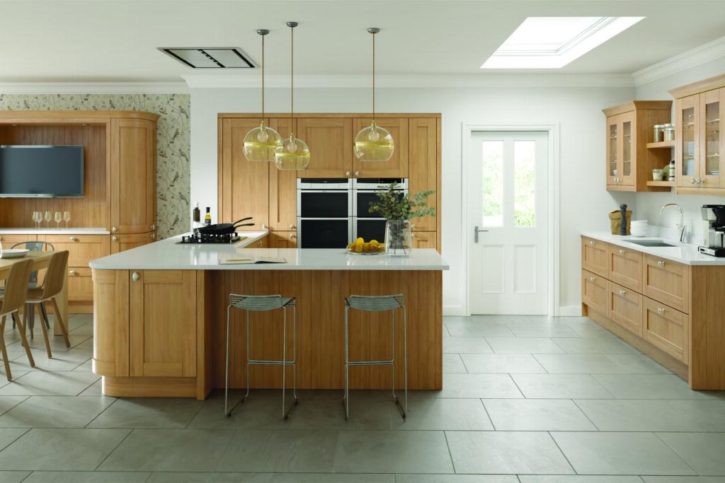 Real Oak Kitchen Doors