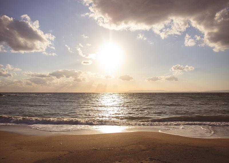 Sun, sea, beach