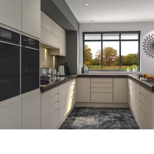 Handleless replacement kitchen doors