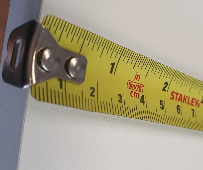 measure kitchen doors