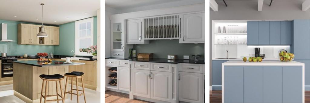 replacement kitchen door ranges